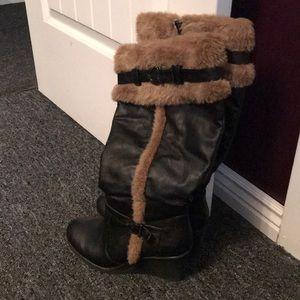 Lane Bryant boots size 8W